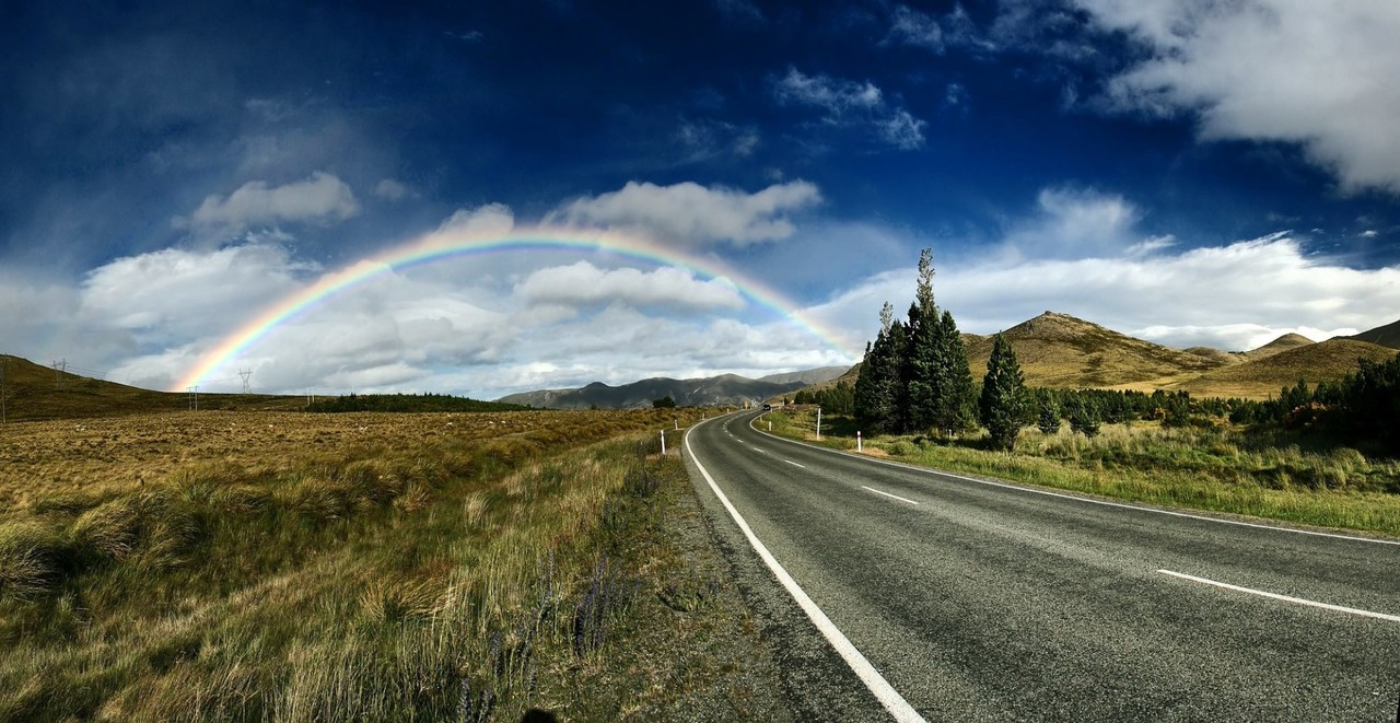 A rainbow signifying the promise of a broker to sell your business